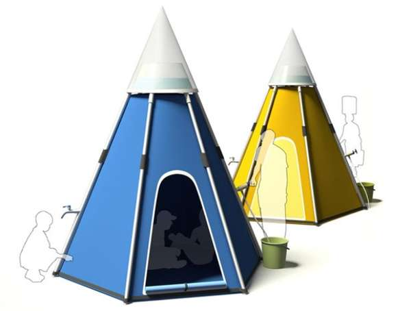 Purification Pop-Up Tents