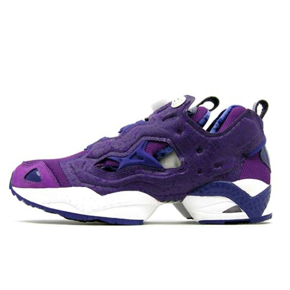 Purple Reebok Shoes