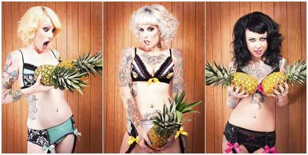 Fruitful Fantasy Underwear