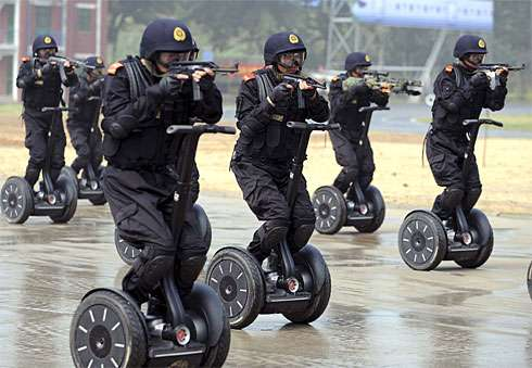 100,000 Men on Segways