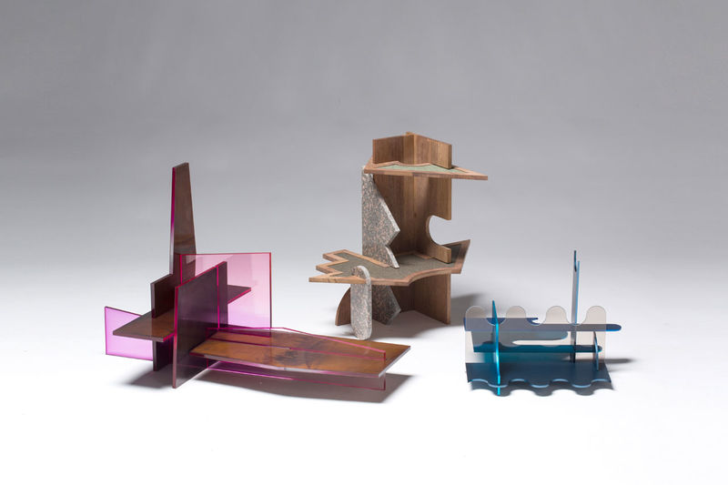 Abstract Puzzle Furniture