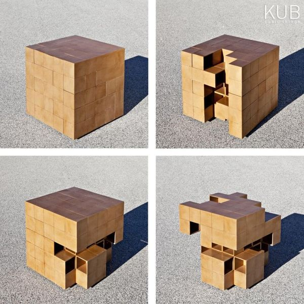 Rubik's Cube-Like Furniture