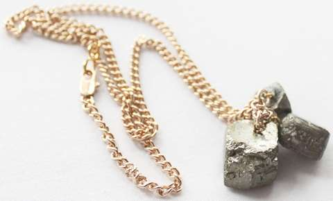 Metallic Rock Jewelry