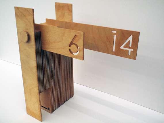 Wooden Calendars