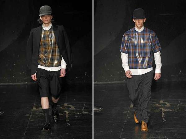 Futuristic Plaid Ruways