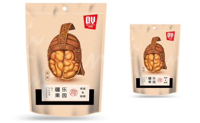 Warrior-Inspired Snack Branding