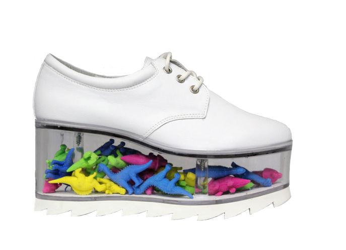 Customizable Shoe Dioramas