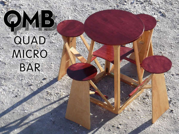 Built-In Stool Tables