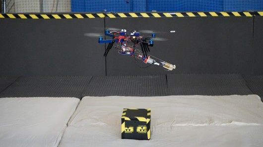 Foam-Spewing Quadcopters
