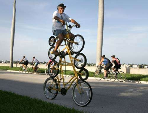 Quadruple Bicycle