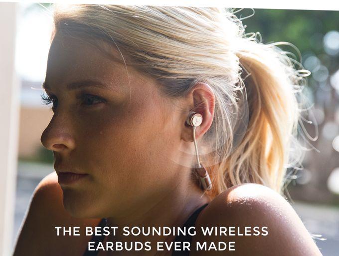 Wireless Ergonomic Earbuds