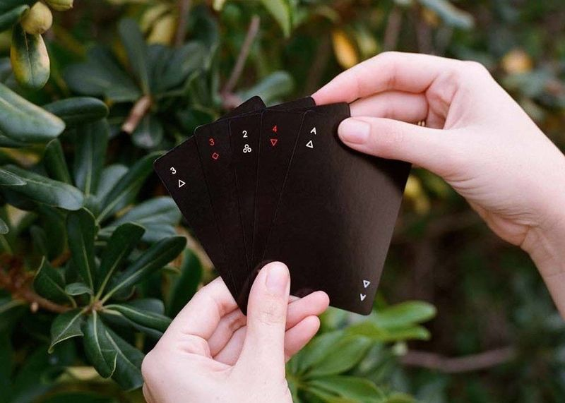 Minimalistic Design Playing Cards