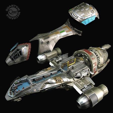 Sci-Fi Spaceship Replicas