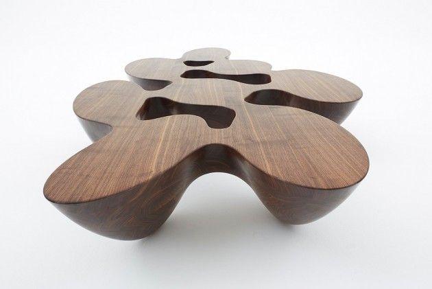 Fluid Silhouette Tables