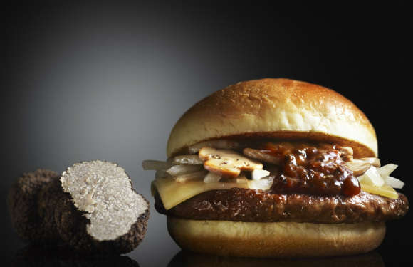 Gourmet Jewel-Themed Burgers