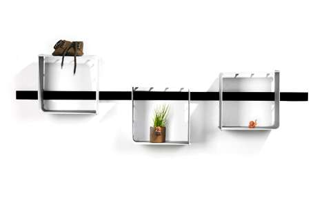 Muddled Cubic Shelves