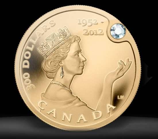 300 Million Royal Mints Queen Elizabeth Gold Coin