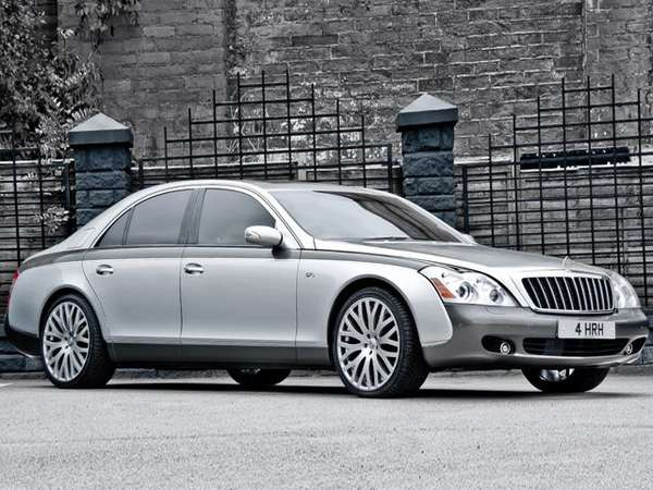 Queen Elizabeth II Maybach