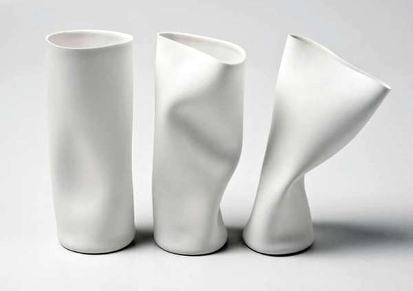 Imperfect Porcelain Containers
