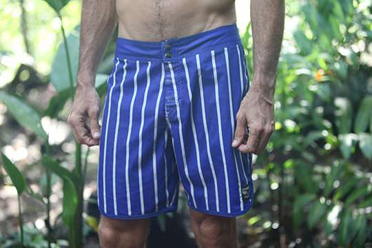 Pinstriped Beachwear