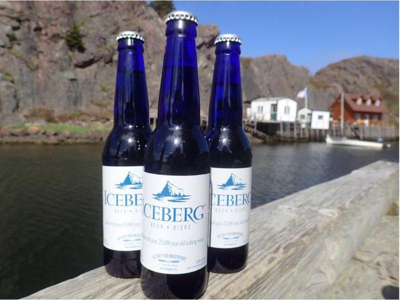 Iceberg-Infused Beers