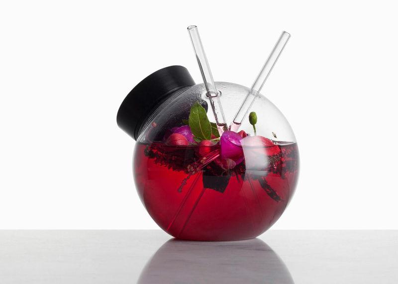 Spherical Cocktail Glasses