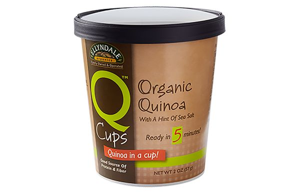 Microwavable Quinoa Cups