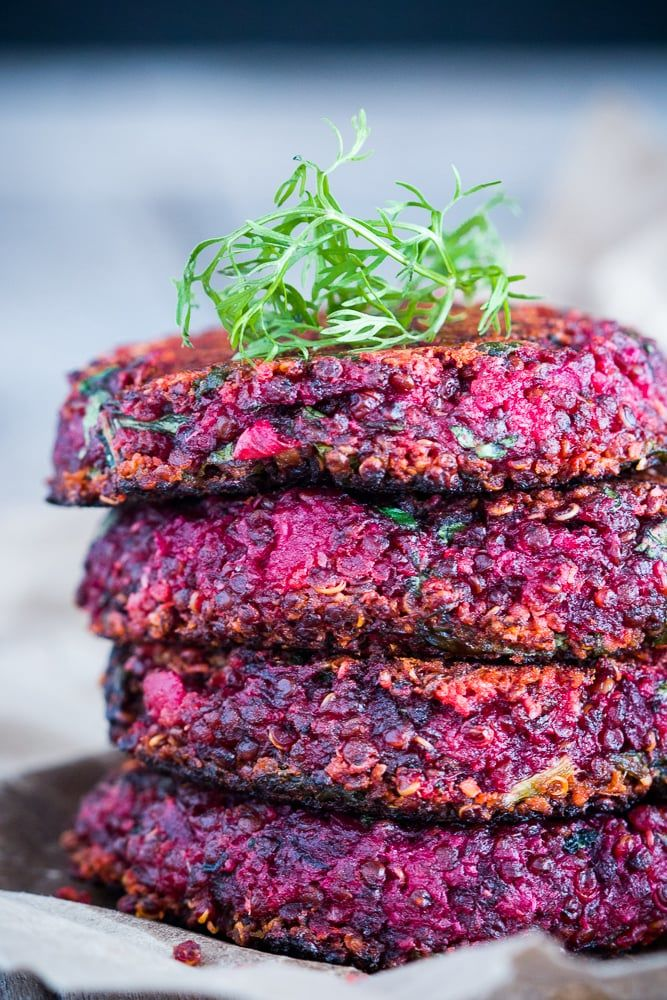 Rainbow Quinoa Patties