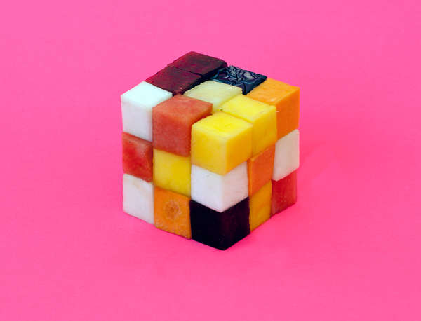 Quirky food art
