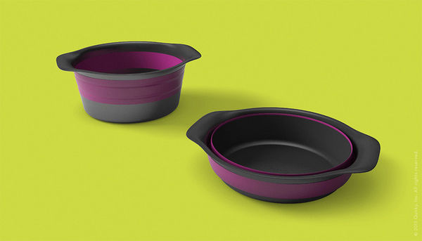Collapsible Baking Bowls