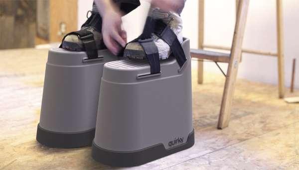Sturdy Footstool Stilts