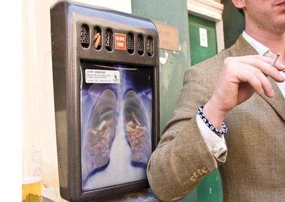 Interactive Anti-Smoking Ads
