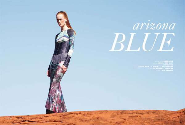 QVEST Magazine Arizona Blue