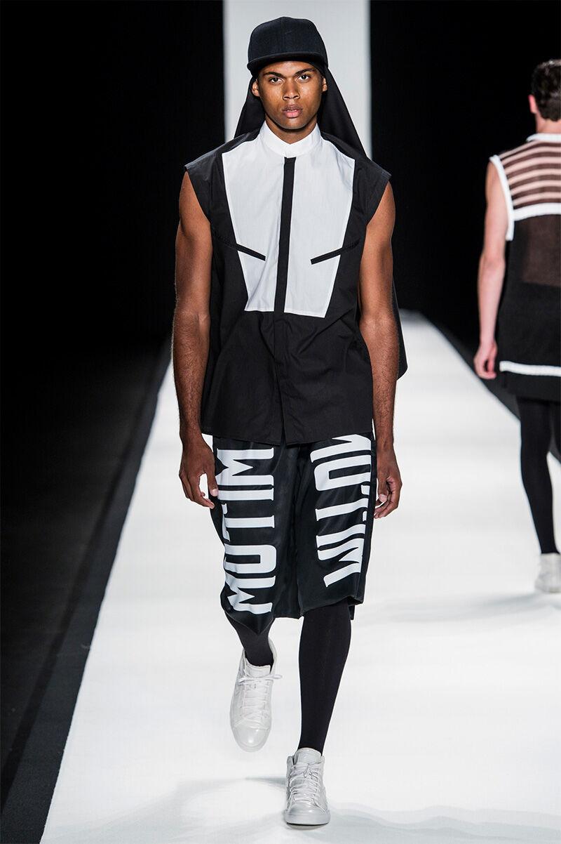 Veiled Monochromatic Streetwear