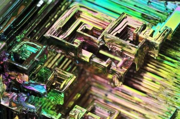 Microscopic Metal Photography