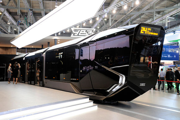 Sci-Fi Streetcar Concepts
