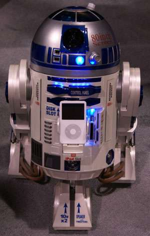 R2-D2 Home Entertainment Robot + Projector + iPod Docking Station