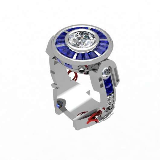 Intergalactic Robot Rings