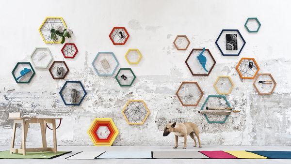 Web-Like Hexagonal Storages
