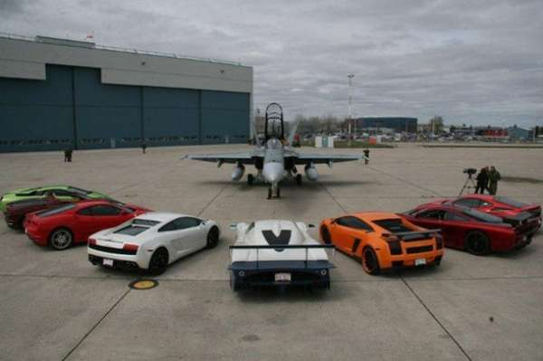 Racing Fighter Jets