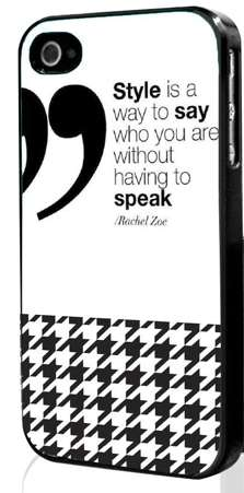 Designer Quoted Smartphone Cases