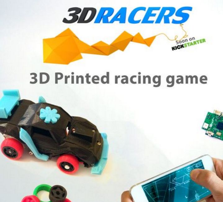 Smartphone-Connected Racing Toys