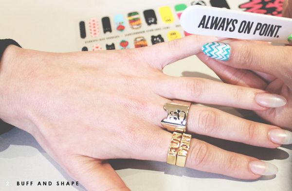 Peculiar Press-On Manicures