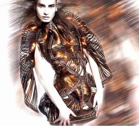 Coiled Corsette Fashion