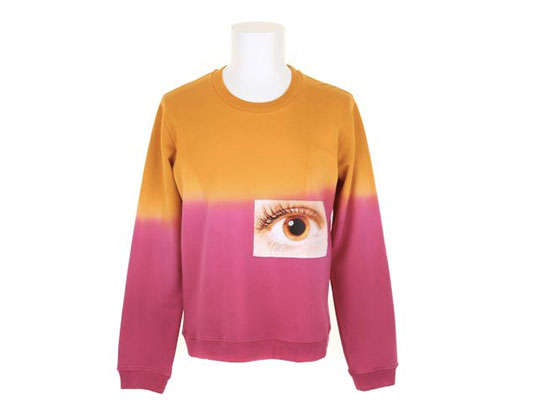 Ocular Color-Blocked Fashions