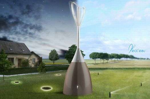 Water-Collecting Wind Turbines