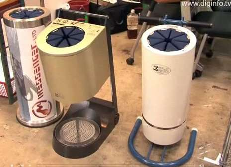 Eco-Friendly Umbrella Dryers