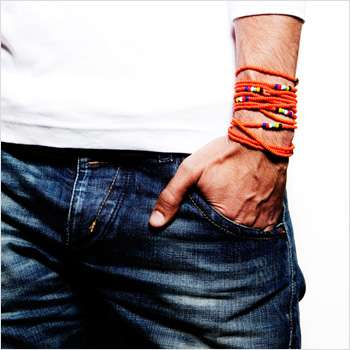 Rainbow Collection World Cup Orange Bracelets