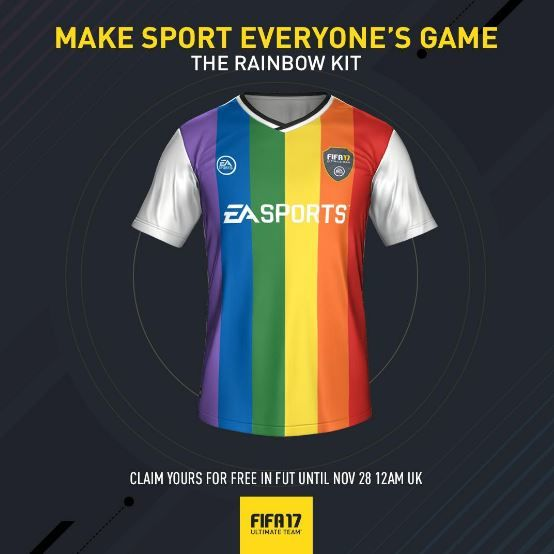 Virtual Rainbow Soccer Kits