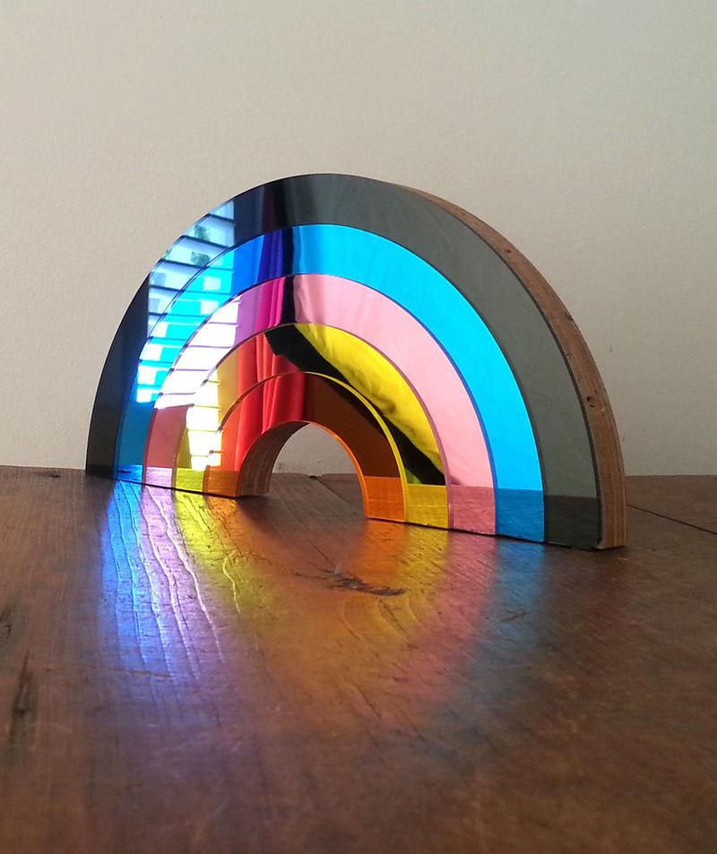 Chromatic Mirror Decor Rainbow Mirrors